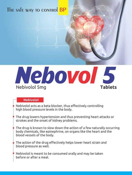 Nebovol 5 tablets
