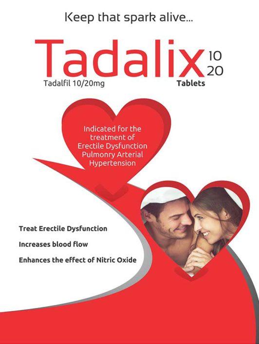 Tadalix Tablets