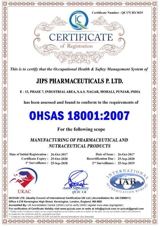 JIPS OHSAS