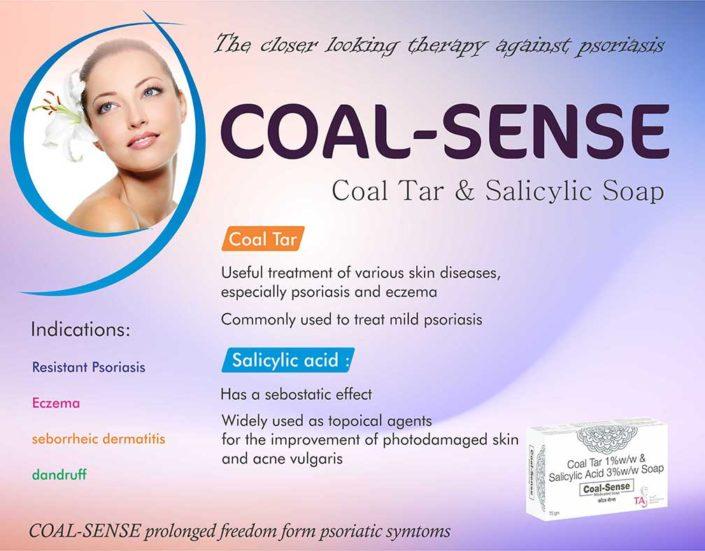 Coal-Sense-Soap Coal Tar and Salicylic Soap
