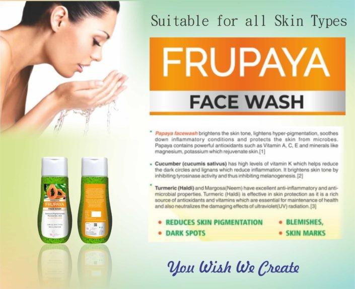 Frupaya facewash