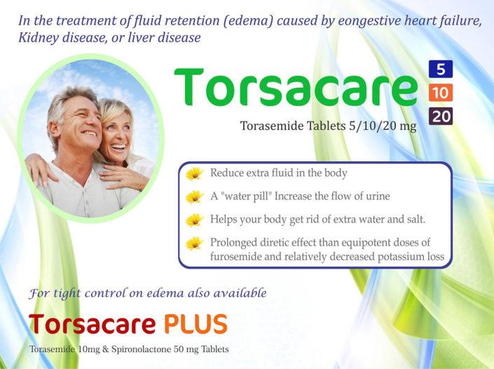 Torsacare Torasemide tablets 5/10/20mg