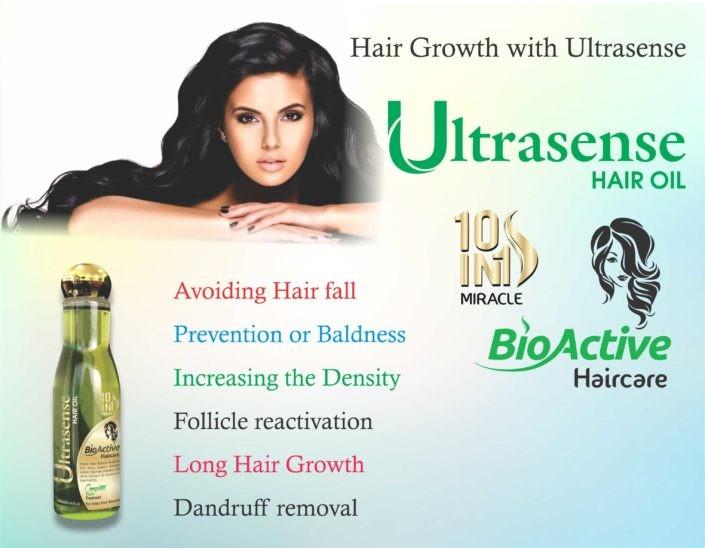 Ultrasense Hair Oil