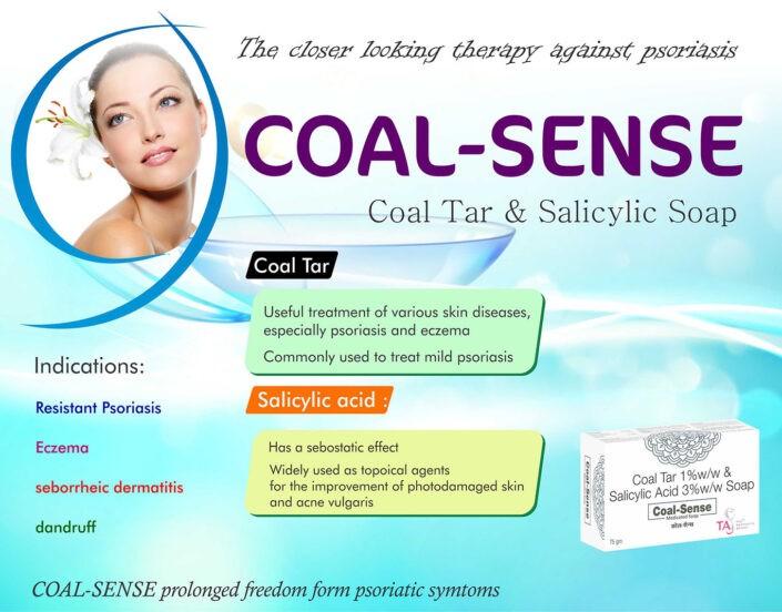 COAL-SENSE Coal Tar & Salicylic Soap