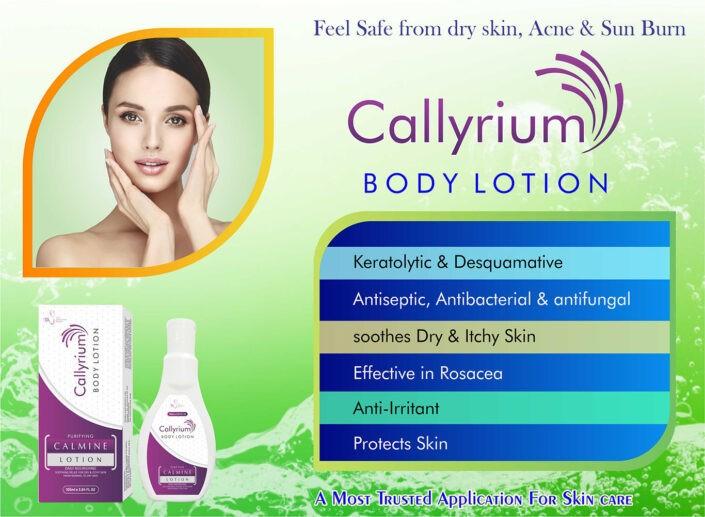 Callyrium body lotion