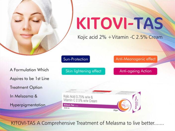 Kitovi-tas Kojic acid 2% + Vitamin- C 2.55 Cream