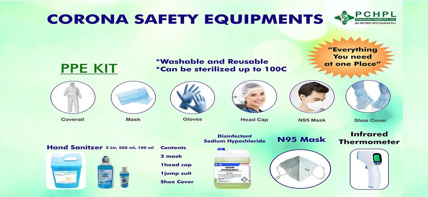 Corona Safety Equipments