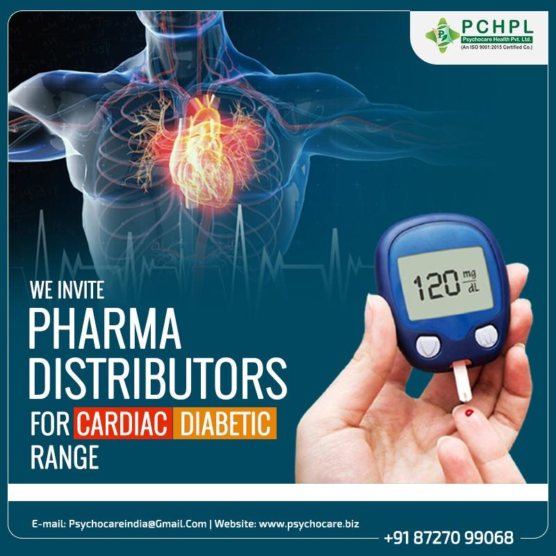 Pharma Distributors for Cardiac Diabetic Medicine